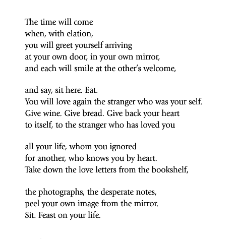 love after love poem by derek walcott poem hunter - 472×474