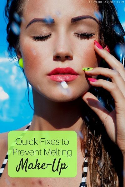 Quick Fixes To Prevent Melting Make Up Makeup Prevention All Things Beauty