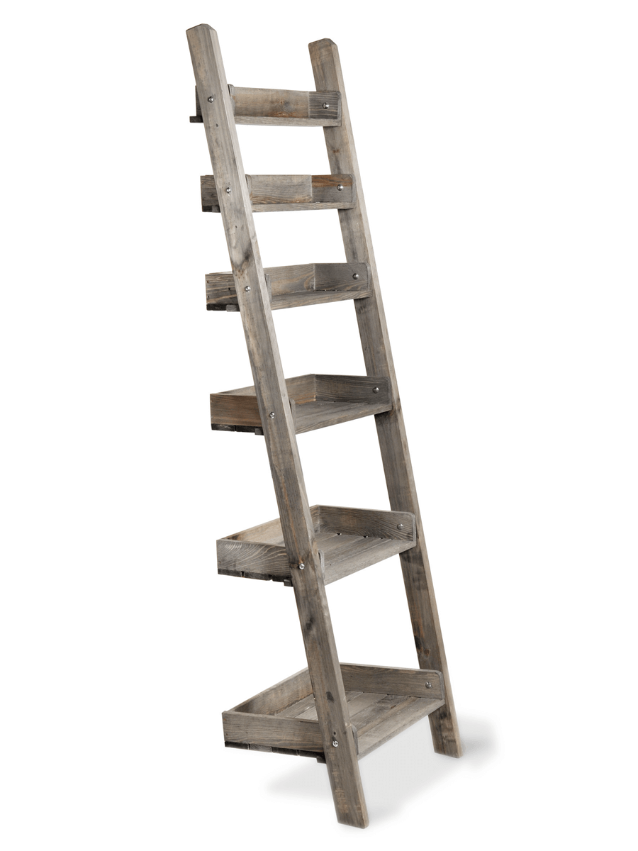 pretty nice b0b76 1af66 Rustic Wooden Ladder Shelf - Slim | House in 2019 | Rustic ...