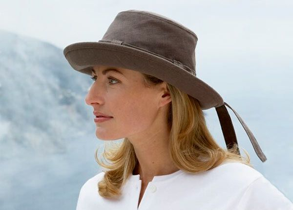 Tilley TH9 Womens Hemp Hat - Mocha - Taunton Leisure  953d391f441