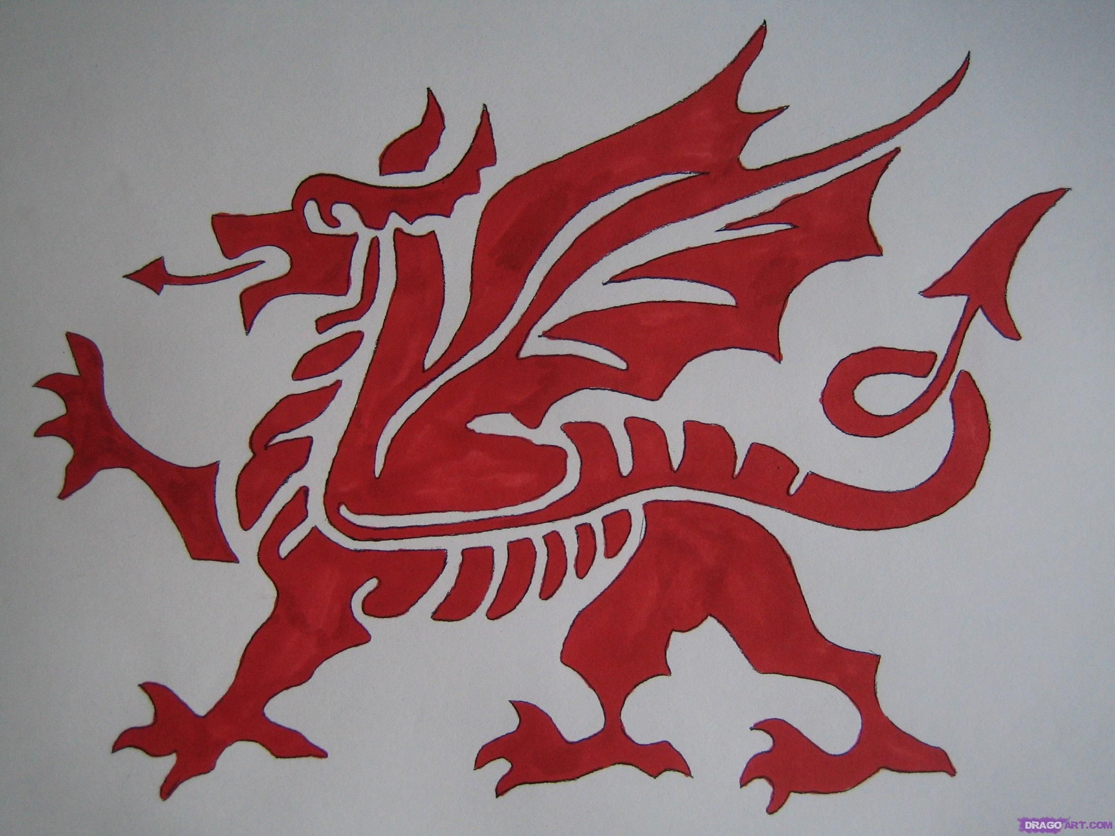 Welsh dragon tattoo designs - So I Ve Finally Chosen What Tattoo I Want It S Going To Be The Welsh Dragon In Red Obviously With Mae Hen Wlad Fy Nhadau The Land Of My Fathers