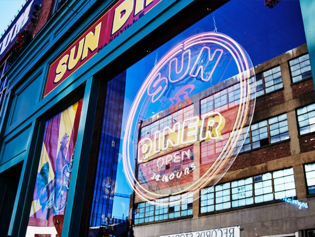 Check Out The 24 Hour Sun Diner Now Open In Downtown Nashville