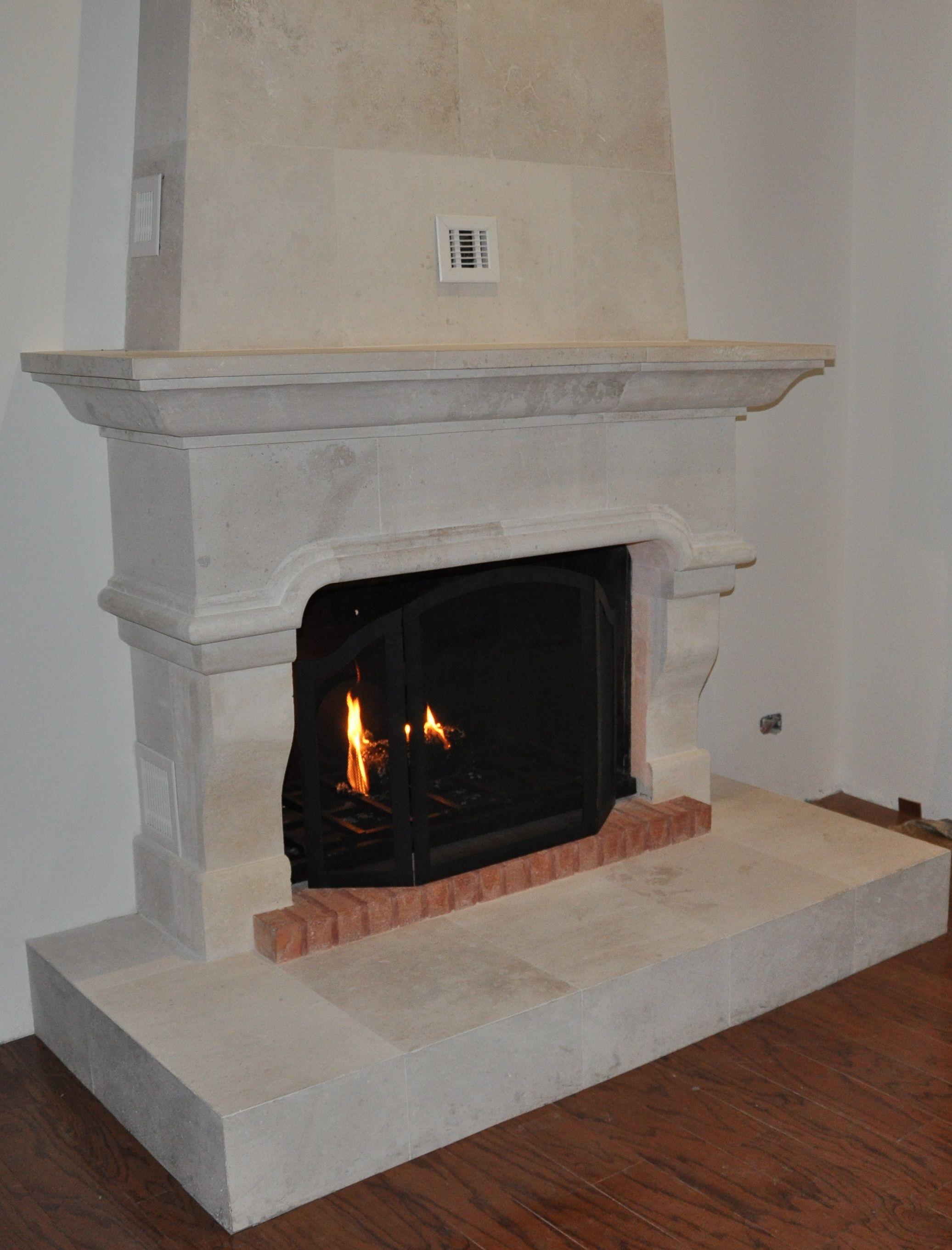 Fancy Fireplace Fancy Fireplace Chimenea Recubierta En Cantera Chimeneas Que Me
