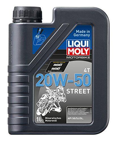 Liqui Moly 1500 Motorbike 4t 20w50 Street Engine Oil 1 Liter