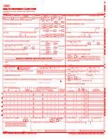 1500 Health Insurance Claim Form, Health Insurance Claim ...