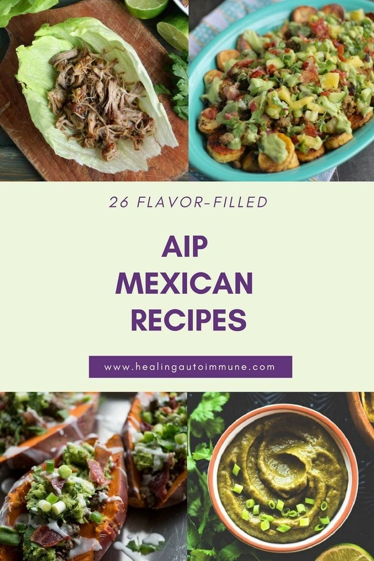 Photo of Get this list of AIP Mexican Recipes here. This list of AIP-friendly Mexican rec…