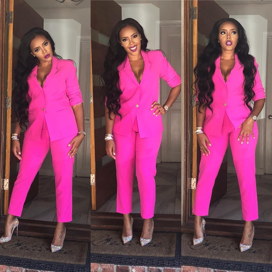 583de3f20663 Kept it pink 💕  yummyextensions Vanessa Simmons
