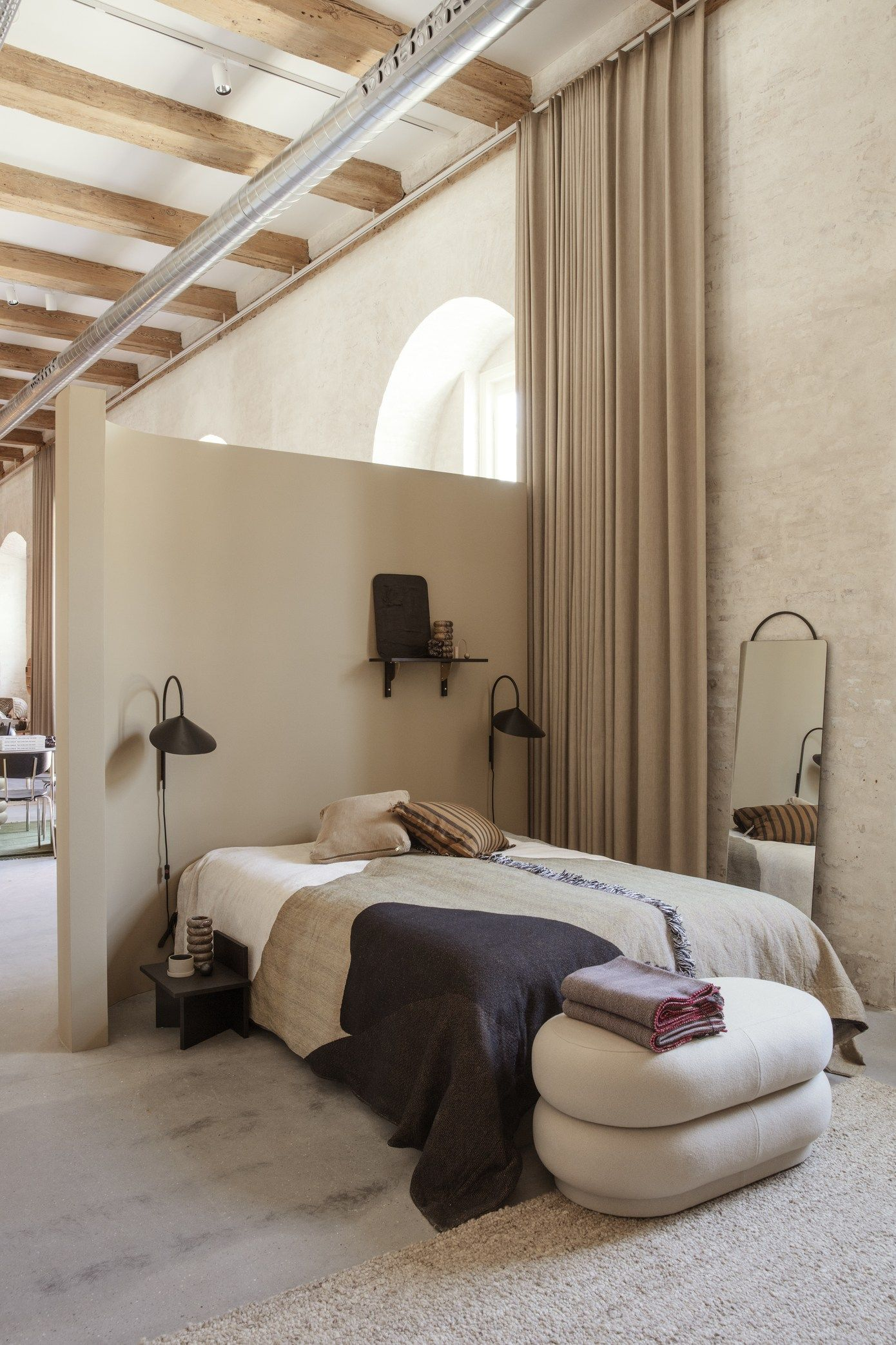 The New Home Of Ferm Living Coco Lapine Design Loft Spaces Minimalist Bedroom Bedroom Trends