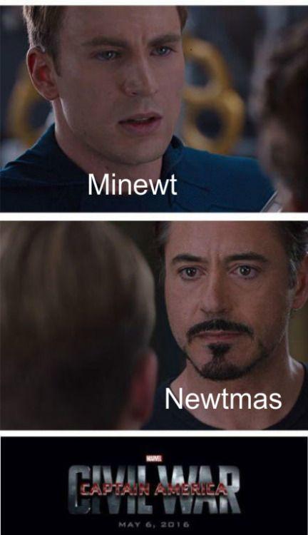 Newtsos Civil War Marvel Fairy Tail Hollywood Undead