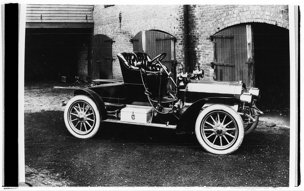 Conover motor car made by Watson in 1912, the year my father, Fred G ...