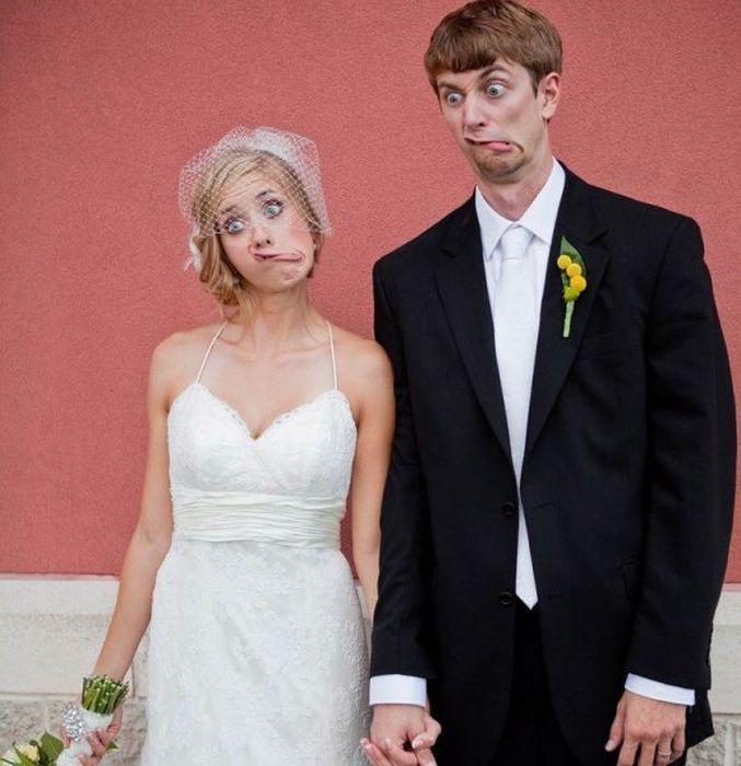 25 Divertidas ideas para la sesión de fotos el día de tu boda ¡Serán ...