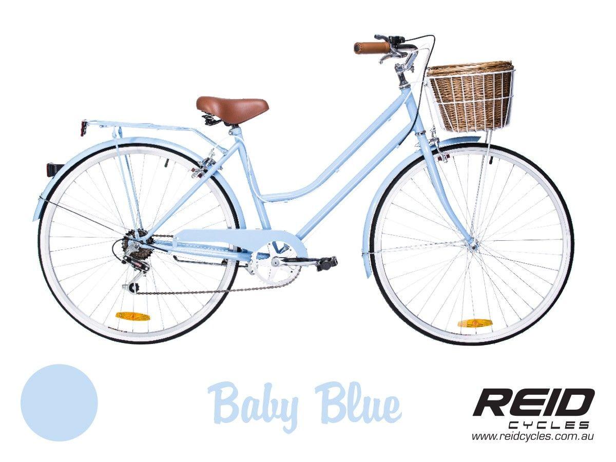 Reid Cycles Baby Blue Vintage Ladies Bike Vintage Bikes