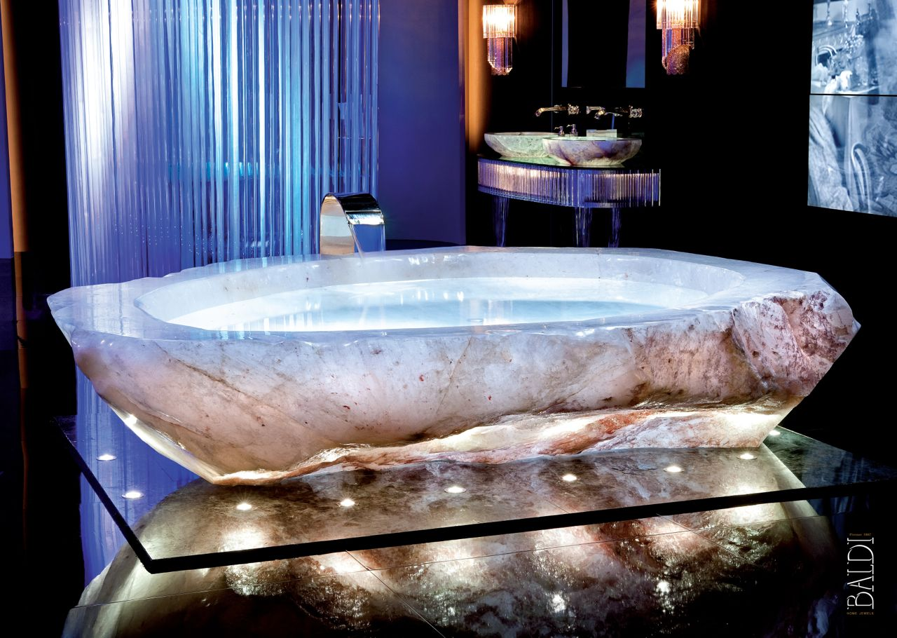 Baldi Bath living Collection: Rock Crystal. The magnificent ...