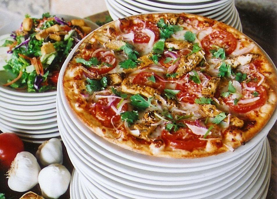 Brick Oven Southwest Chicken Pizza Brick oven pizza