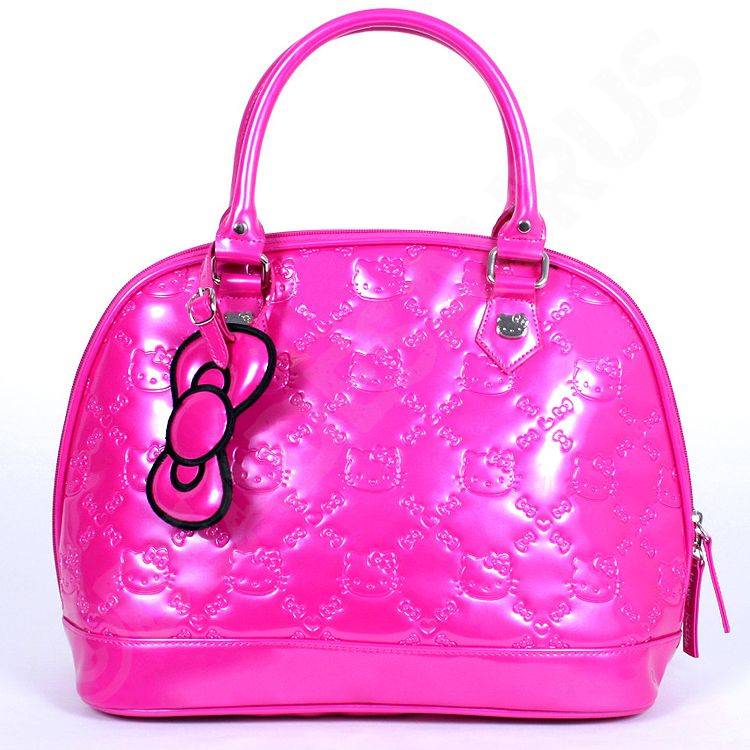 Loungefly Hello Kitty Embossed Purse in Hot Pink. Limited Release ... c1d9b1b46239f