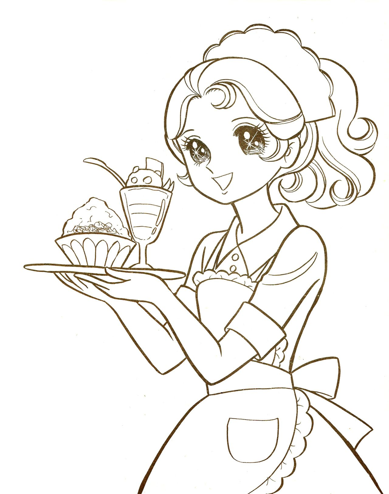 Ausmalbilder Manga Mädchen : Vintage Shoujo Manga Buscar Con Google Anime Pinterest
