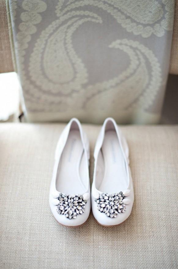 31fd6fa54058 Shoes - Weddbook. White Wedding ShoesWedding FlatsWhite ...