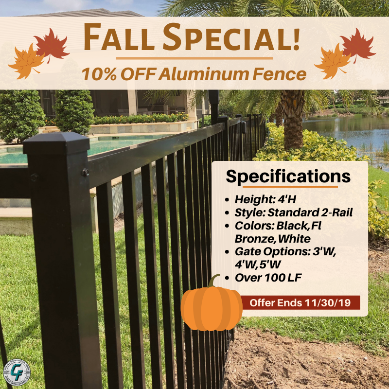 Fall Special Fence Contractor Fencing Companies Gates And