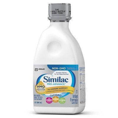 Similac Pro Advance Infant Formula Ready To Feed 32oz Similac