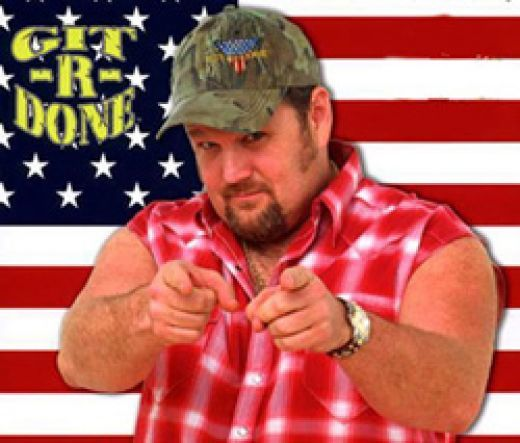 Image result for larry the cable guy get er done