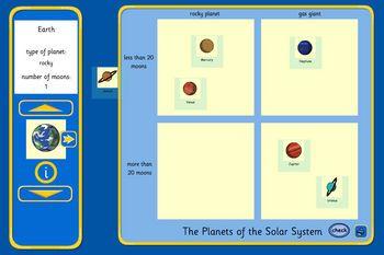 planets carroll diagram maker tes iboard interactive. Black Bedroom Furniture Sets. Home Design Ideas