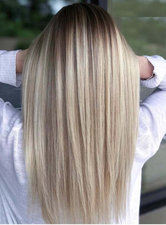 Most Charming Styles Of Long Sleek And Straight Hairstyles