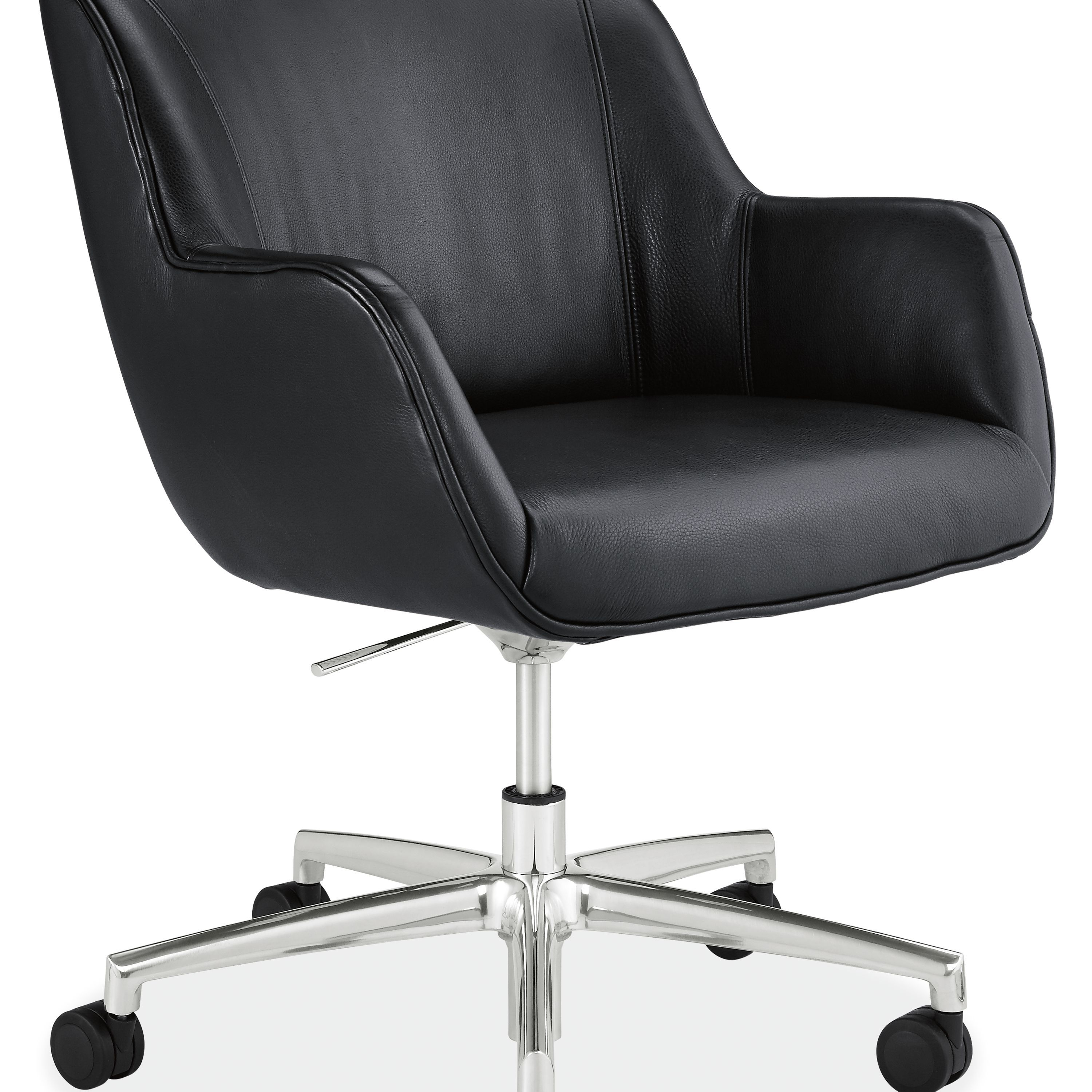 office chair cheap acrylic dining chairs nz nico in leather white room board officechair