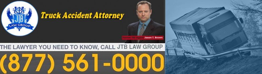 Injured in a truck accident get help from jtb law