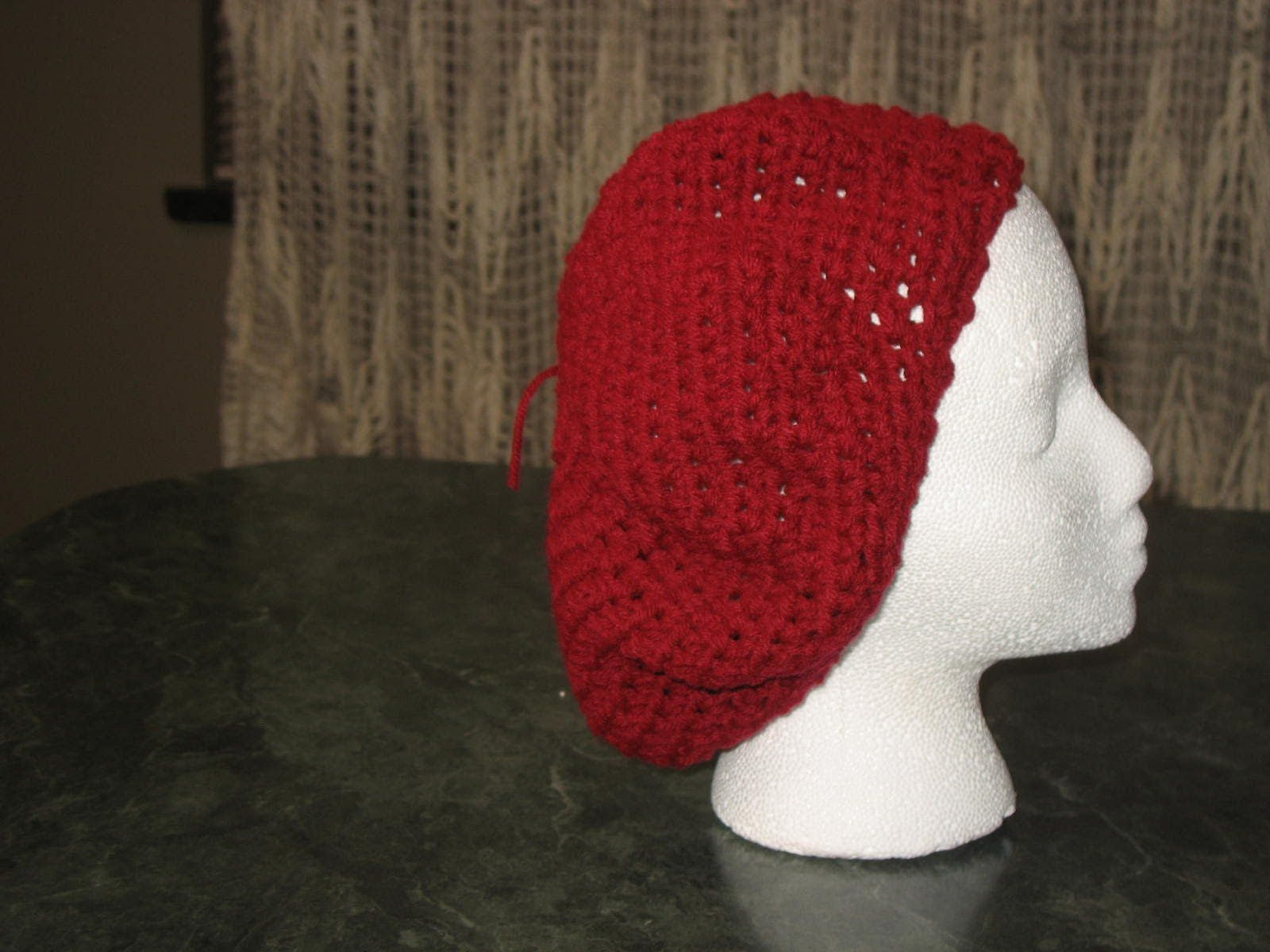 Crochet easy baret or slouchy hat   Projects to Try   Pinterest