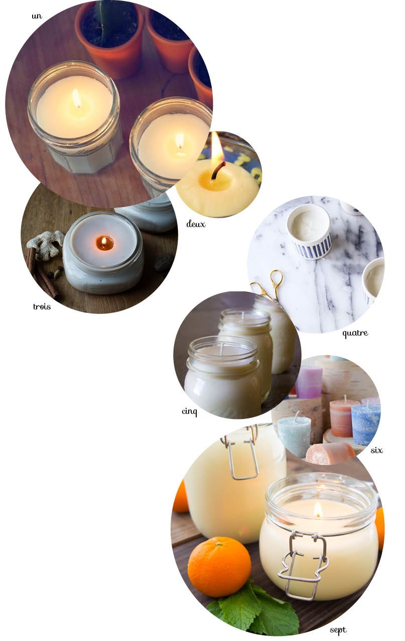 fabriquer une bougie parfum e bricos sympa pinterest homemade scented candles diy candles. Black Bedroom Furniture Sets. Home Design Ideas