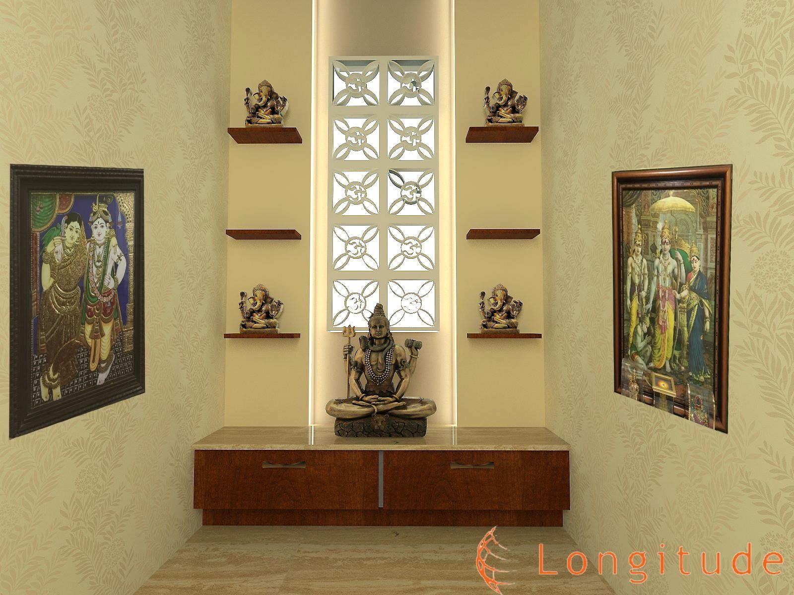 Interior design for home temple - Home Temple
