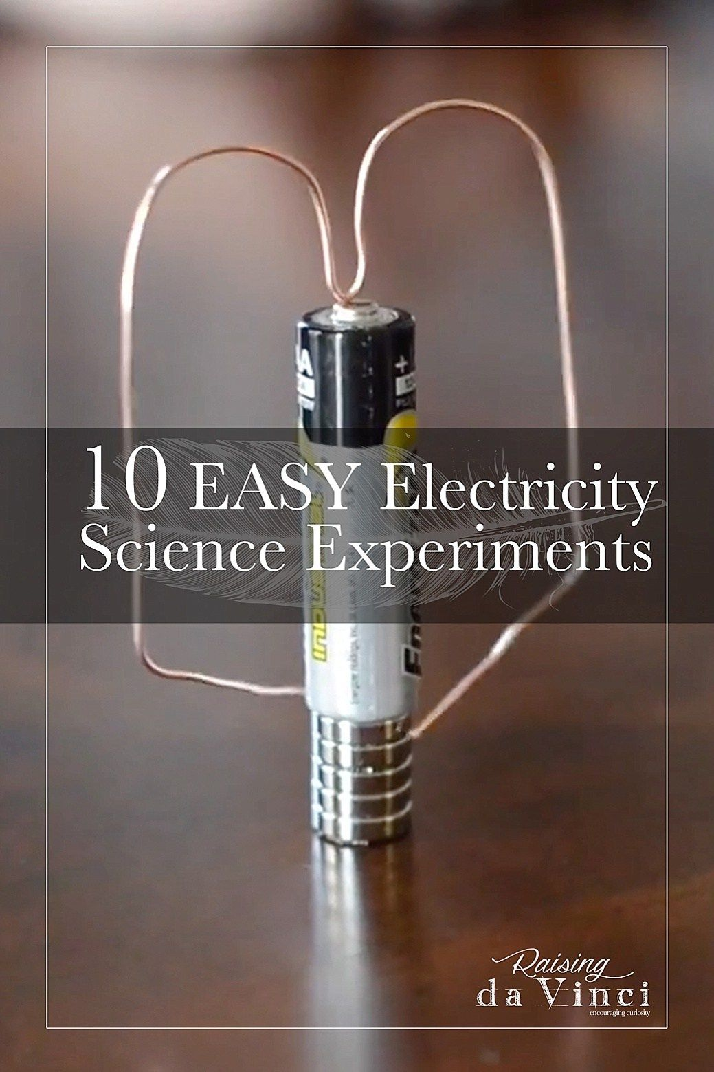 10 Easy Electricity Science Experiments Homeschool Resource Group Electrical Circuit Project Welcome To Another Week Of Saturday We Share For You Try At Home Up This Month Is