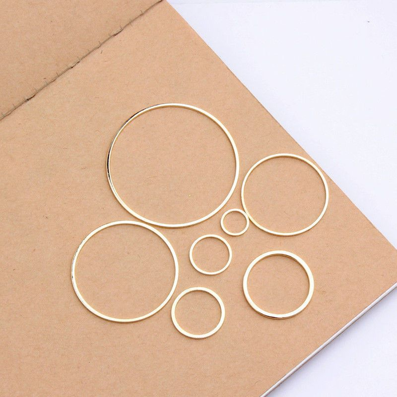 10X Beading Hoop Earring Finding Components Jewelry Making DIY Findings