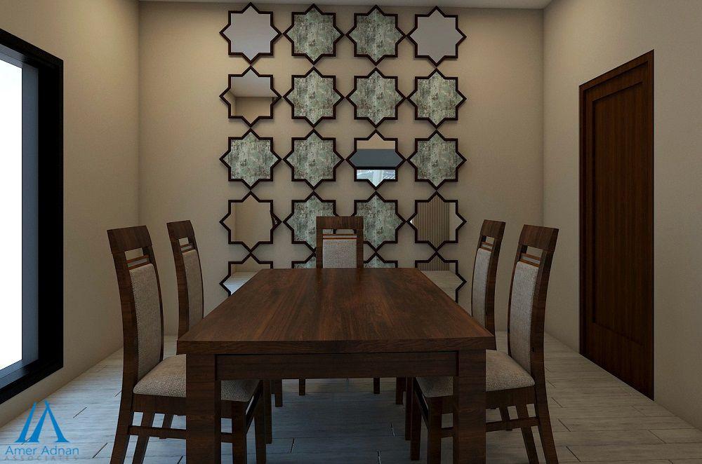 Beautiful Dinning Wall Design Idea By Team Aaa Interiordesign