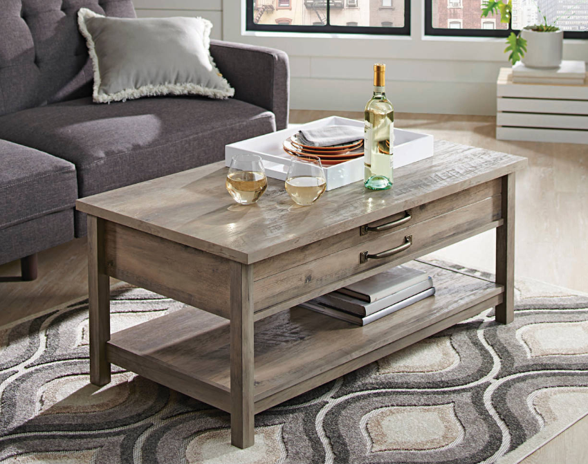 Home Rustic Coffee Tables Lift Top Coffee Table Coffee Table
