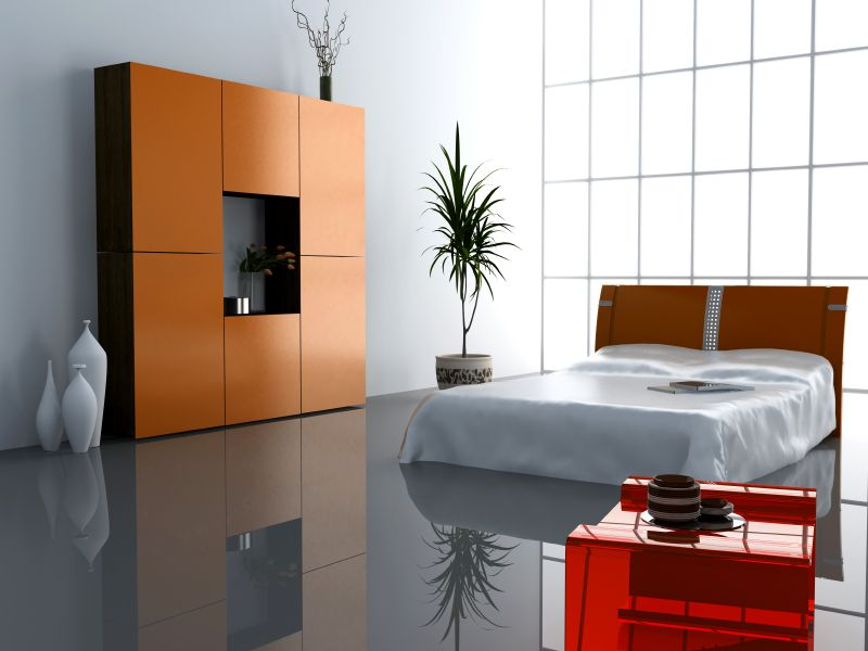 ultra modern bedroom interior design | Modern room divider ...
