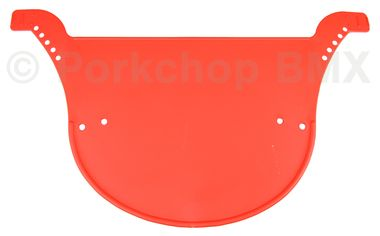 Neal Enterprises PROTO-PLATE old school BMX bicycle racing number plate RED