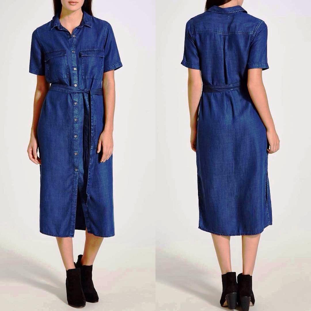 b2be0b12c2 Denim Dresses 2017-2018  Trendy Jeans Dresses For Women