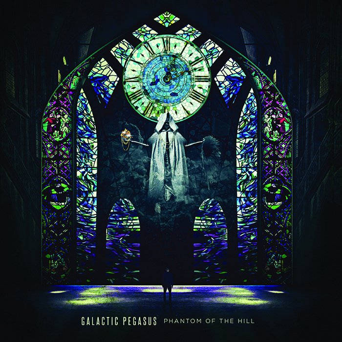 Galactic Pegasus Phantom Of The Hill Album Art Djent Galactic Phantom