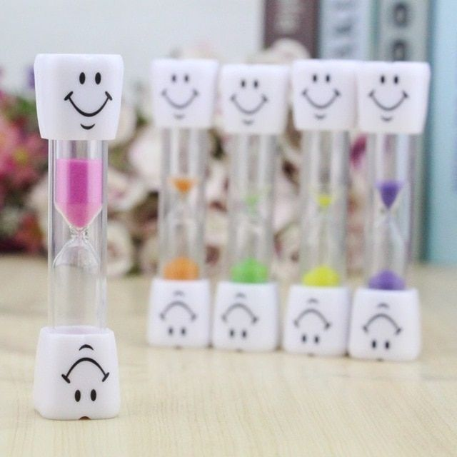 Learning & Education Independent Creative Cute Smile Face 3 Minitues Hourglass Sand Timer Kids Brushing Timer Catoon Educational Toys Birthday Gifts Toy Children High Quality