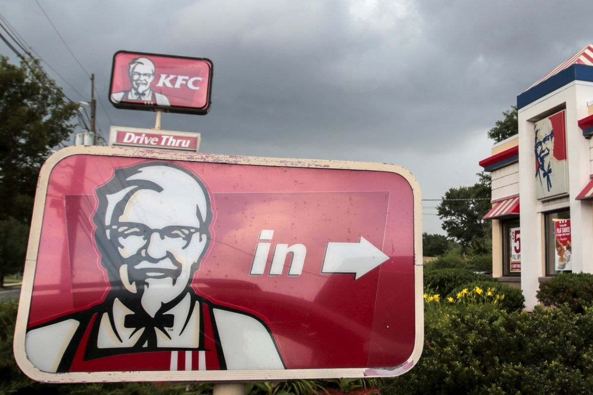The custom began in 1970, shortly after the first KFC