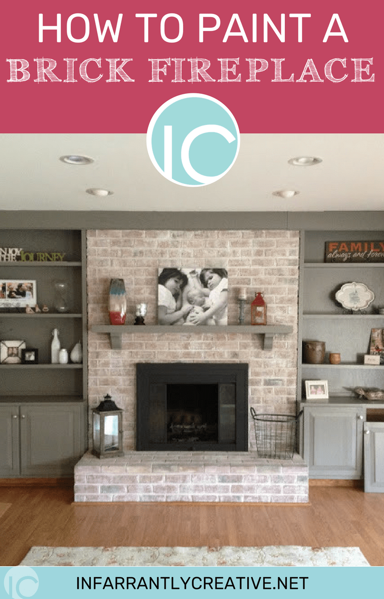 I Love A Good Before And After And This Fireplace Done By Monica