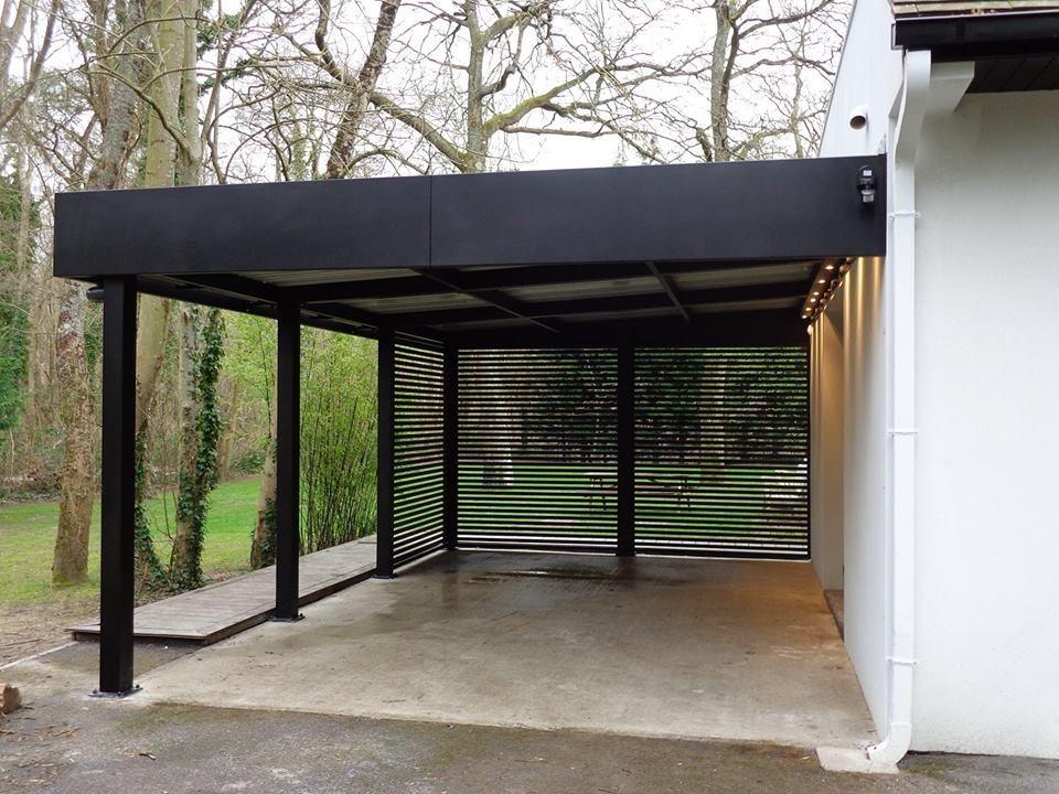 carport adoss jpg organisation de garage pinterest organisation de garage abri voiture. Black Bedroom Furniture Sets. Home Design Ideas