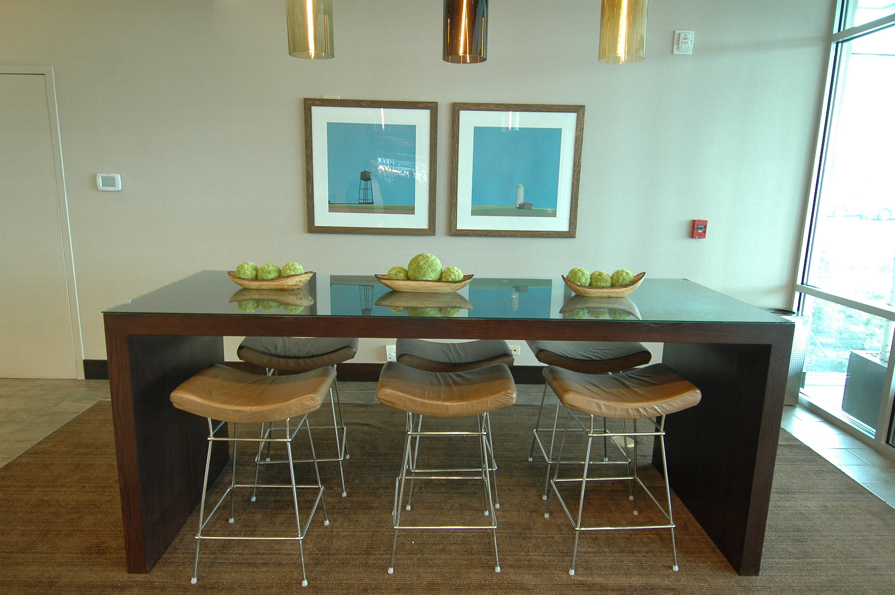 Clear Glass Table Top To Protect Furniture From Scratches Or Just