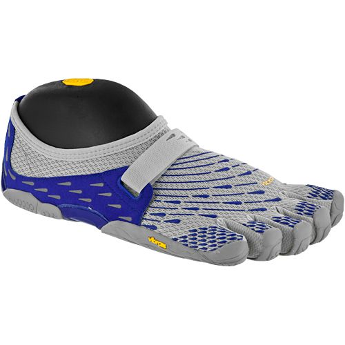 Vibram Fivefingers Seeya: Vibram Fivefingers Men's Running Shoes Silver/dark Blue