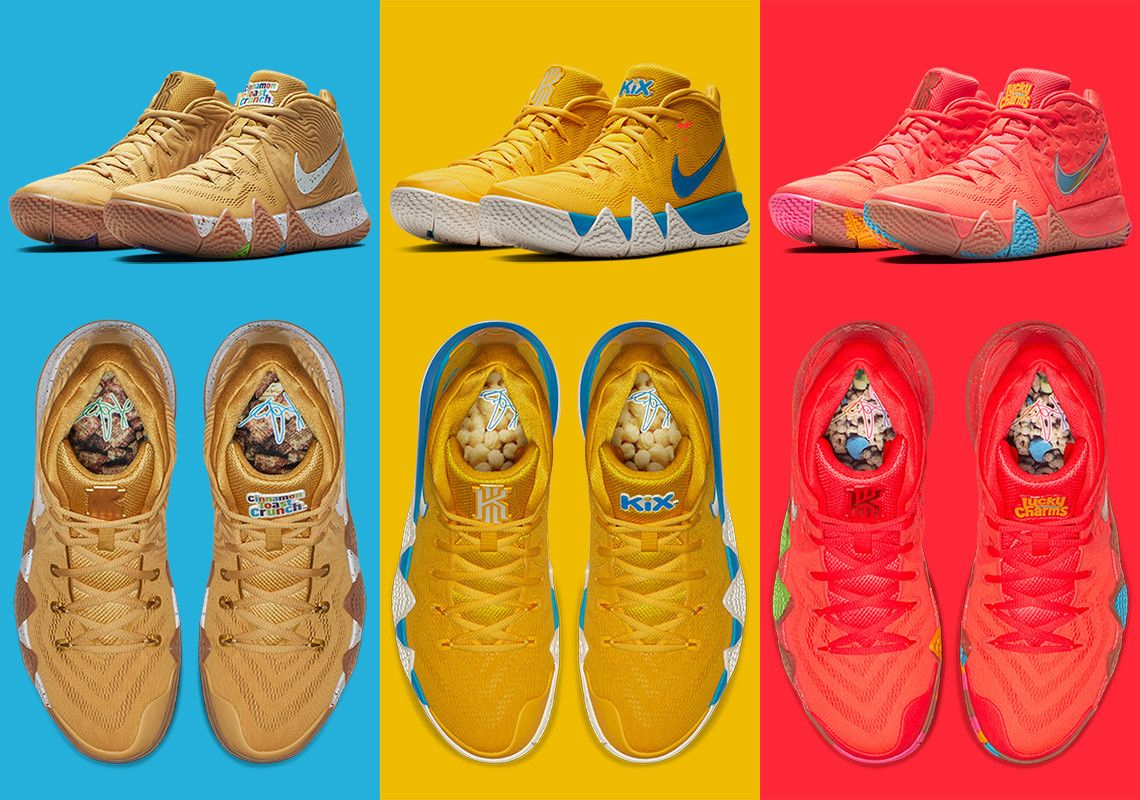 Nike Kyrie 4 Cereal Pack Release Date