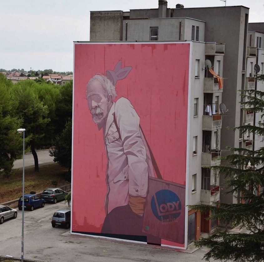 "by Etam Cru - ""Bambino"" - Civitanova Marche, Macerata (Italy) - Sept 2015"