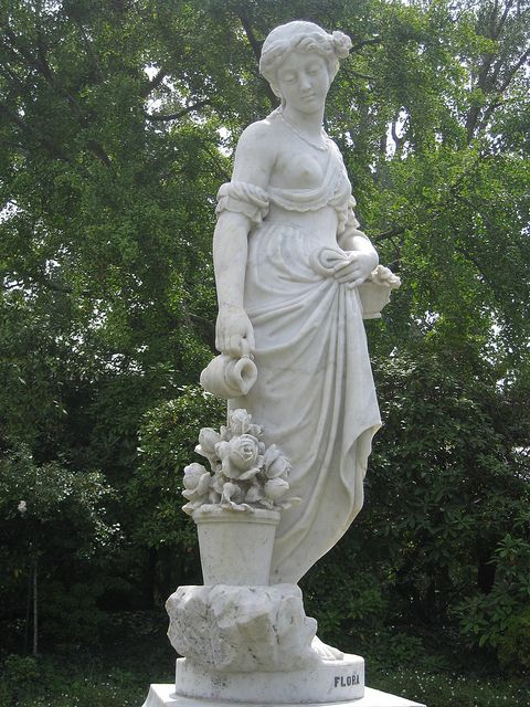 Victorian Marble Statue Of Flora In 2019 Italian Statues