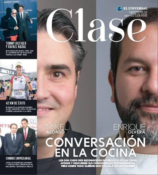 Cocina Con Enrique | Numero 186 Mikel Alonso Y Enrique Olvera Conversan En La Cocina