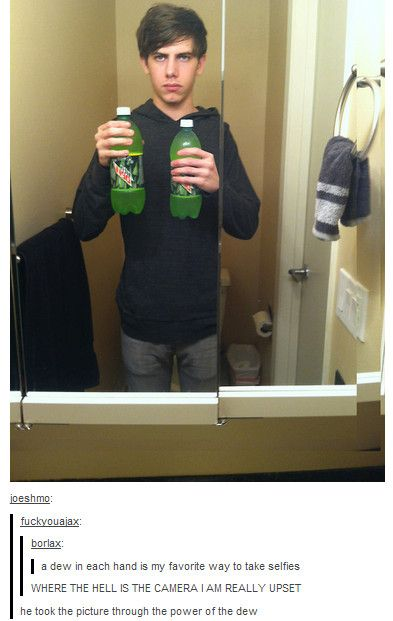 Mountain Dew Selfie